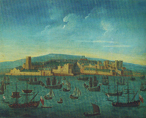 <i>Liverpool in 1680</i> (artist unknown) courtesy National Museums Liverpool
