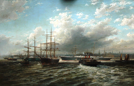 <i>In the Mersey</i> by Max Sinclair courtesy National Museums Liverpool