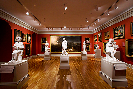 Chrysler Museum of Art in Norfolk's vibrant Ghent district (courtesy CMA)